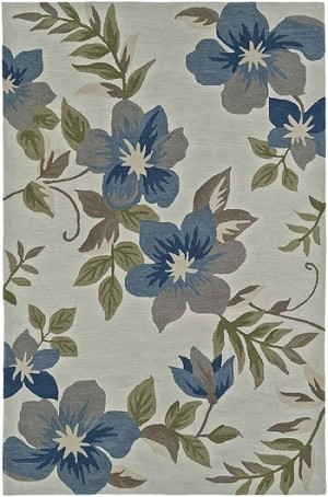 Dalyn Maui MM6 Ivory/Blue Closeout Area Rug - Winter 2019