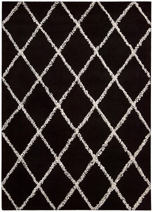 Joseph Abboud Monterey MTR01 BKW Black/White Closeout Area Rug