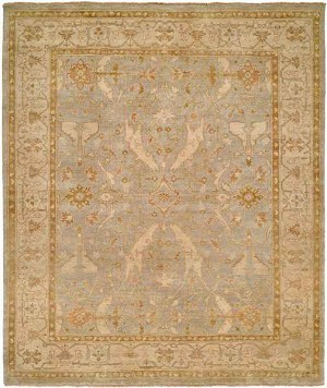 Designer Series 17002 Sea Drift Oushak Light Blue Rug