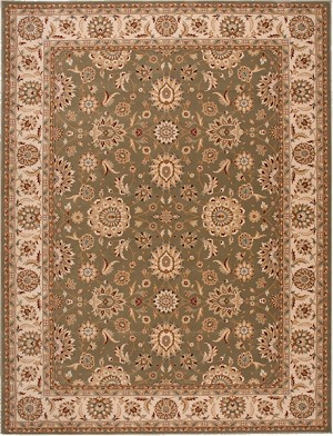 Nourison Persian Crown PC002 GREEN Green Closeout Area Rug