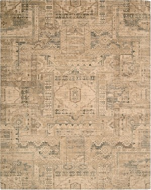 Nourison Silk Elements SKE13 BGE Beige Area Rug