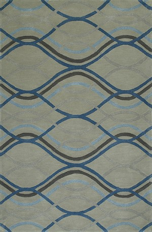 Dalyn Santino SO43 Steel Area Rug