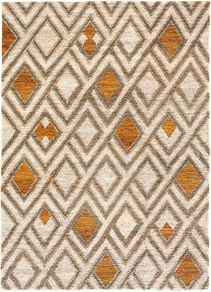 Jaipur Traditions Made Modern Select TMS02 Manta Cloud Cream & Wood Thrush Closeout Area Rug