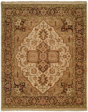 Allara Ottoman TM-1024 Ivory/Brown Area Rug
