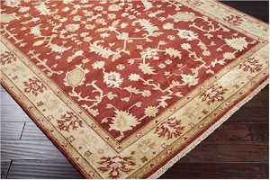 Surya Antolya ANT-9702 Venetian Red/Red Clay/Golden Raisin Closeout Area Rug - Spring 2013
