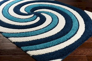 Surya Cut & Loop Shag CLG-2300 Area Rug