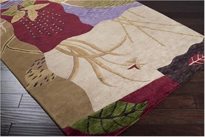 Surya Mugal IN-8065 Dark Khaki/Bronze/Auburn Closeout Area Rug - Fall 2012
