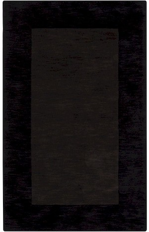 Surya Mystique M-352 Espresso/Jet Black Closeout Area Rug - Fall 2012