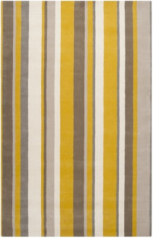 Surya Mystique M-426 Pussywillow Grey/Papyrus/Citrine Closeout Area Rug - Spring 2014