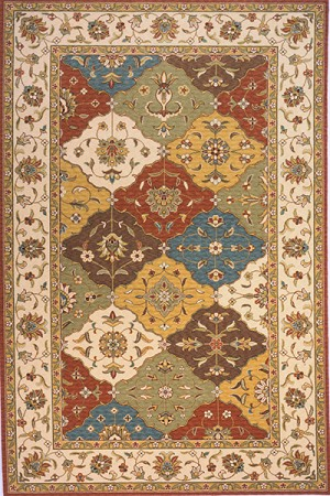 Momeni Persian Garden PG-11 Multi Closeout Area Rug