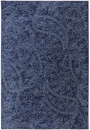 Karastan Pacifica 90487-50102 Kingston Indigo Closeout Area Rug
