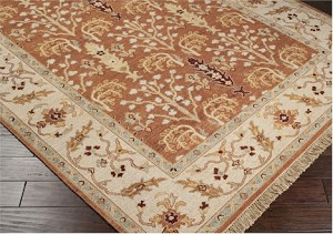 Surya Sonoma SNM-8996 Russet/Taupe Beige/Tan Closeout Area Rug - Fall 2013