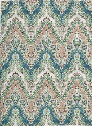 Nourison Waverly Treasures WTR02 PRUSSIAN Area Rug